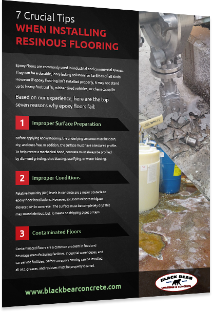 7 Crucial Tips When Installing Resinous Flooring