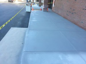 Concrete Resurfacing, CVS, Canton, MA