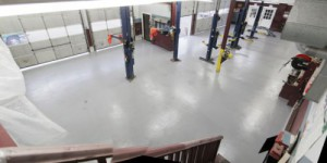 Epoxy, DJ's Automotive Garage, Leominster, MA