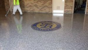 Epoxy, St. Bernard's Athletic Center, Fitchburg, MA