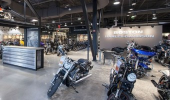 Polished Concrete, Harley-Davidson, Boston, MA