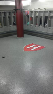 Epoxy, Harvard University Locker Room, Cambridge, MA