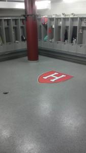 Harvard University Locker Room