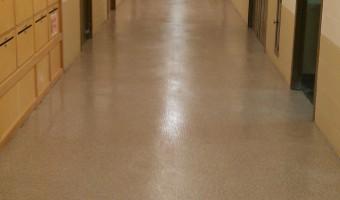 Epoxy, Springfield Hospital Corridors, Springfield, VT