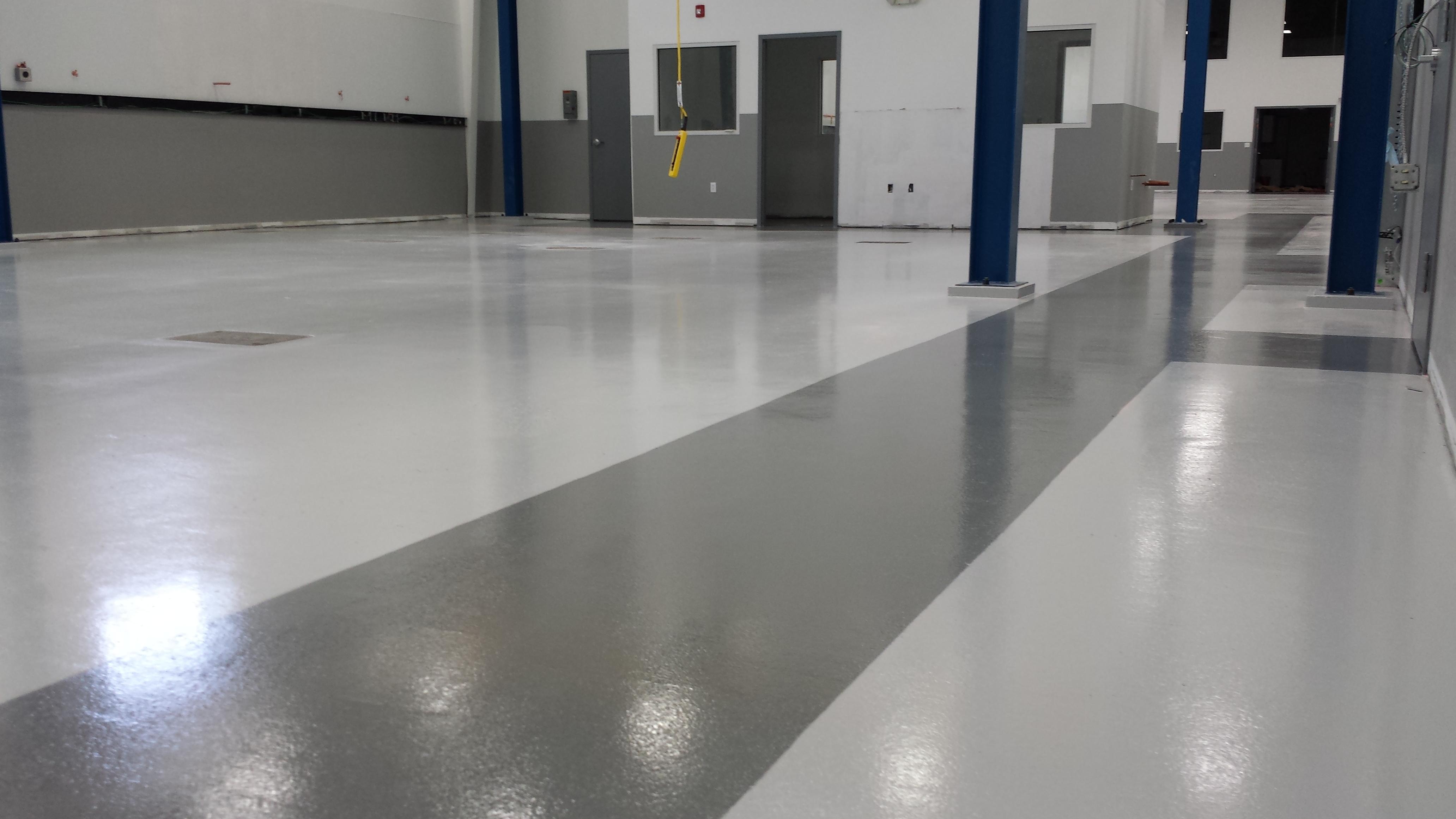 Epoxy Smc Production Floor Sterling Ma Black Bear