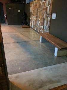 Polished Concrete, Riverfront Lofts, Pawtucket, RI