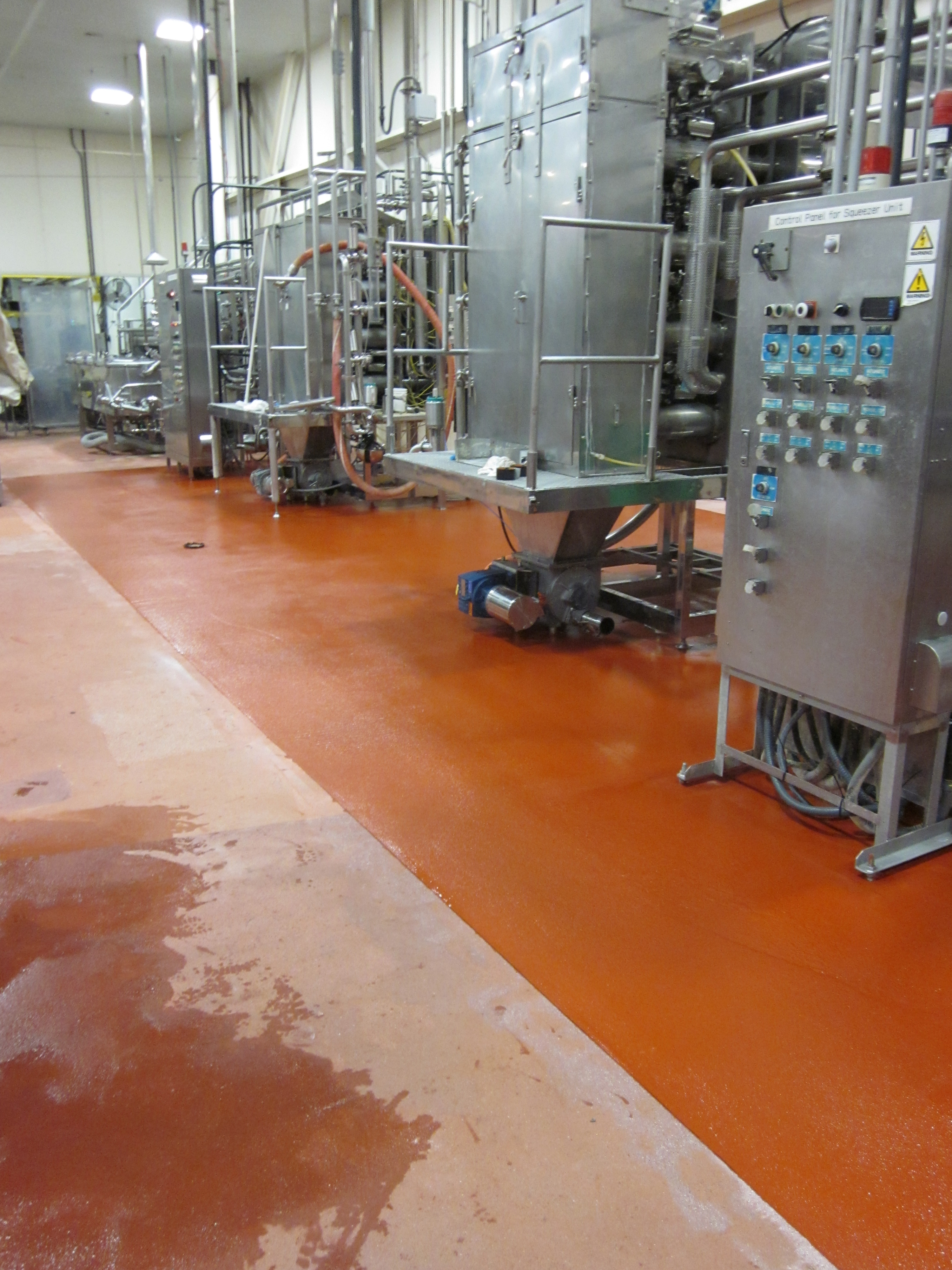 Epoxy, Vitasoy Manufacturing Area, Ayer, MA By Black Bear