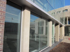 Concrete Resurfacing (vertical), Harvard Law, Cambridge, MA