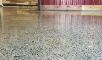Polished Concrete, Idle Hands Craft Ales Brewery, Malden, MA