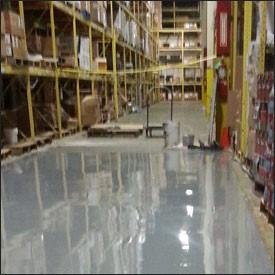 Warehouse - Aubuchon Hardware Distribution Center - Epoxy