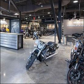 Retail - Harley Davidson - Polished Concrete