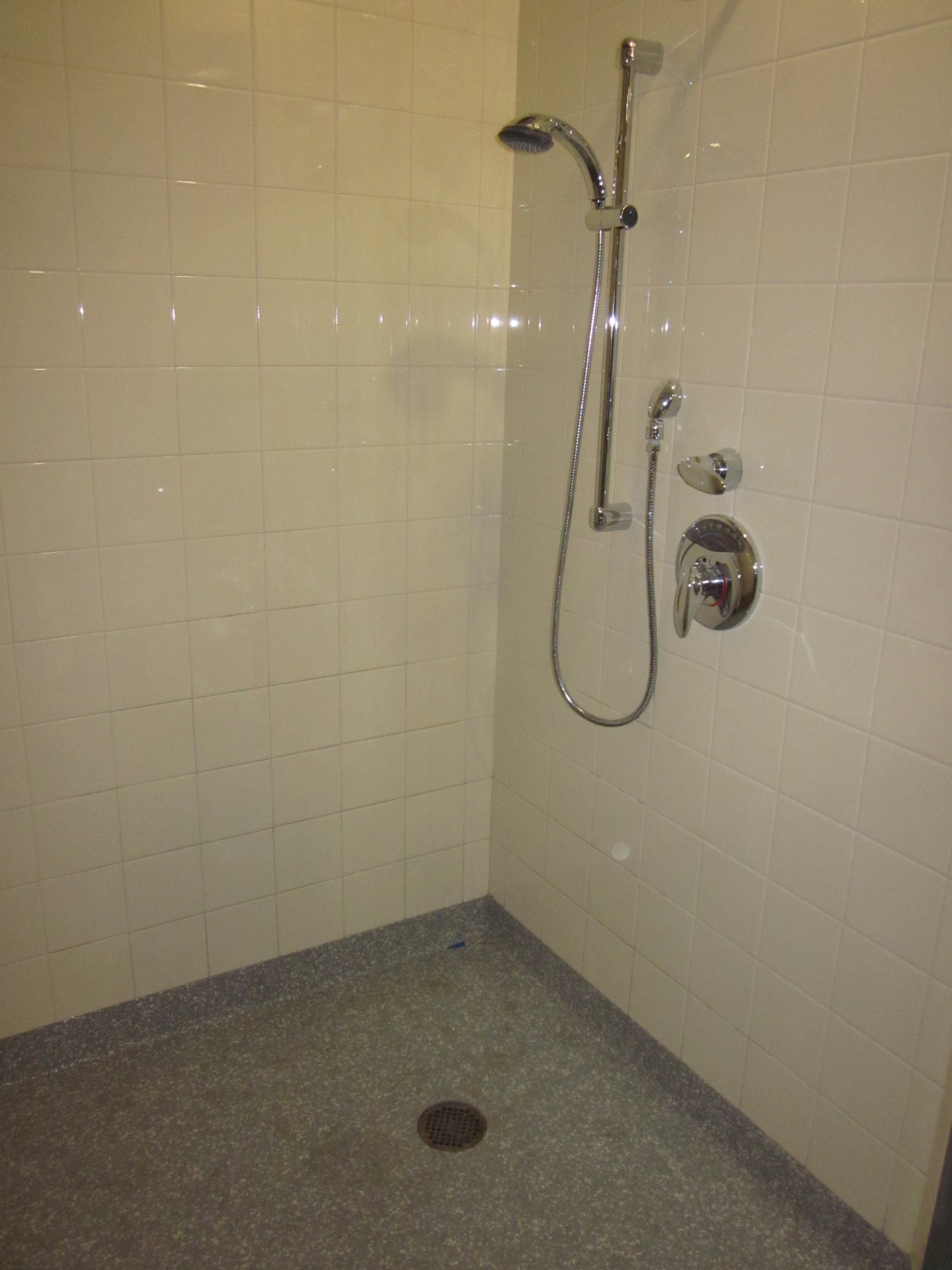 Epoxy Grout For Bathrooms: Epoxy, Health Alliance Hospital Bathroom, Leominster, MA