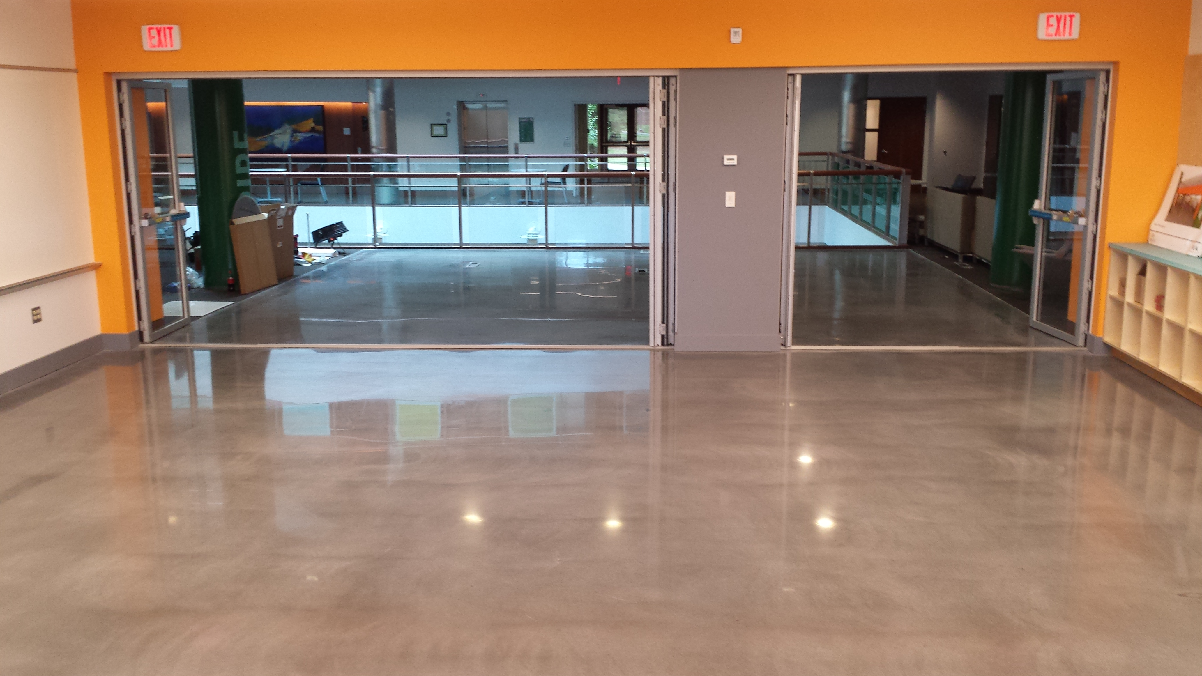 Babson College Educational Facility School Flooring