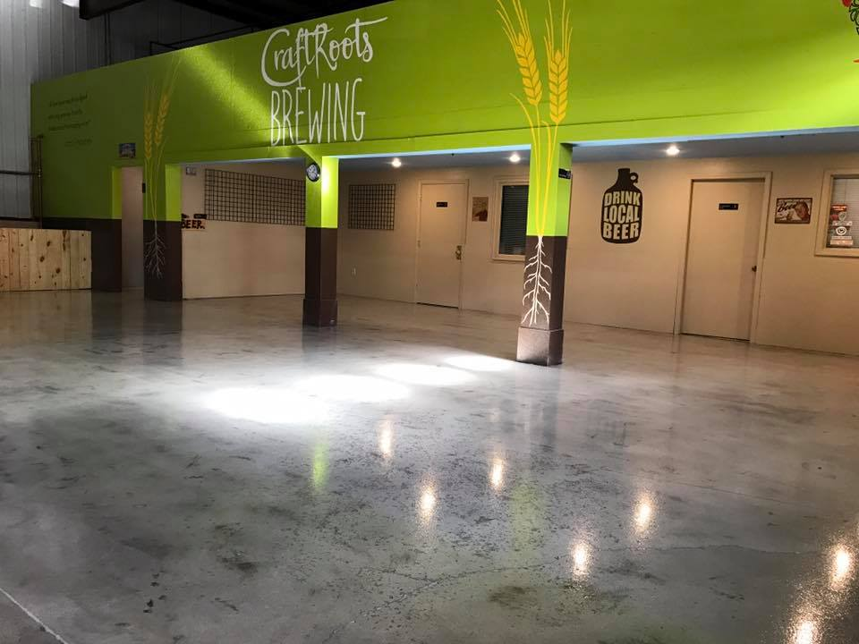 Here is the solution for brewery floor coatings that we engineered for Craft Roots Brewing