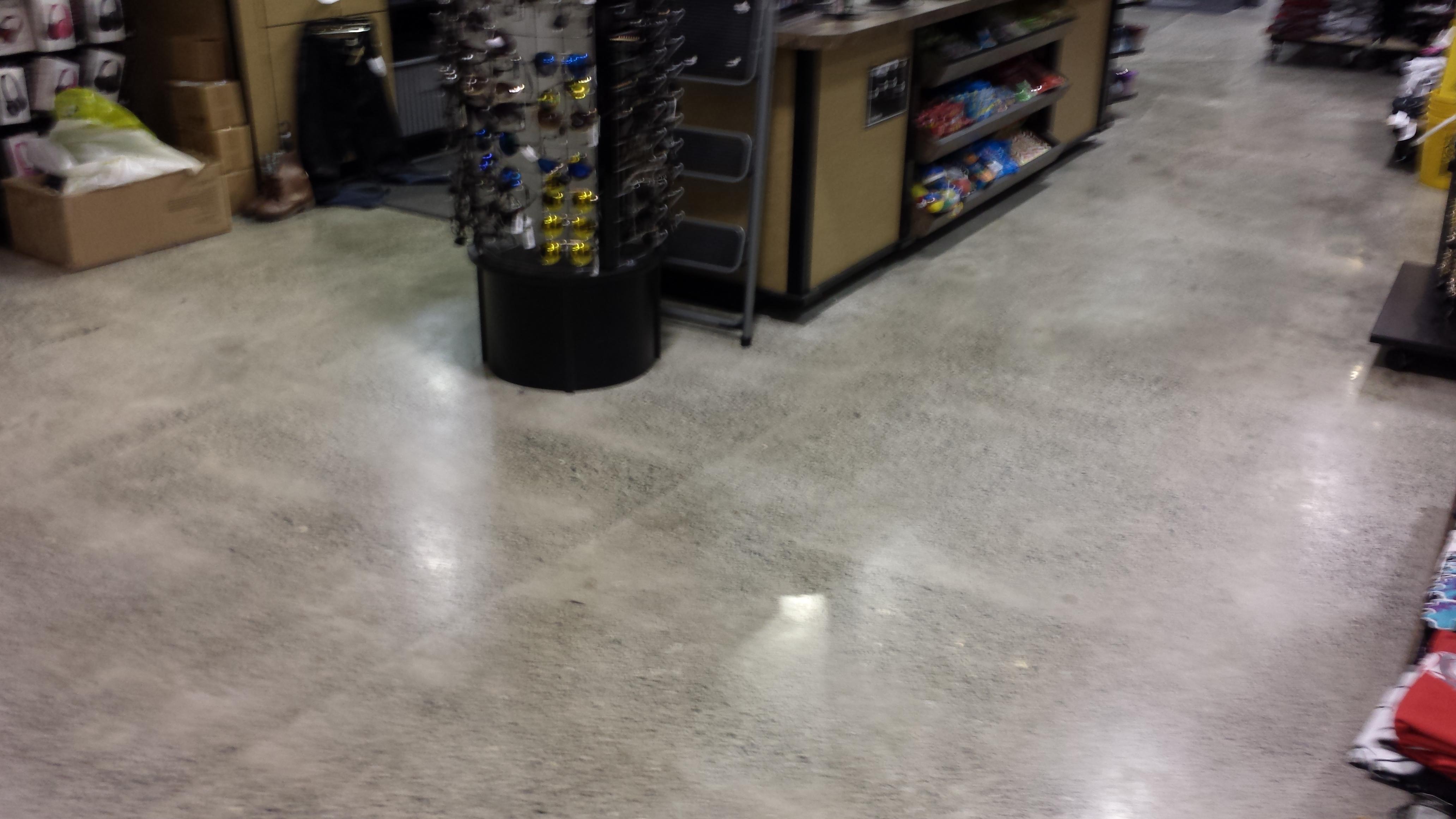 Forever 21 retail Flooring
