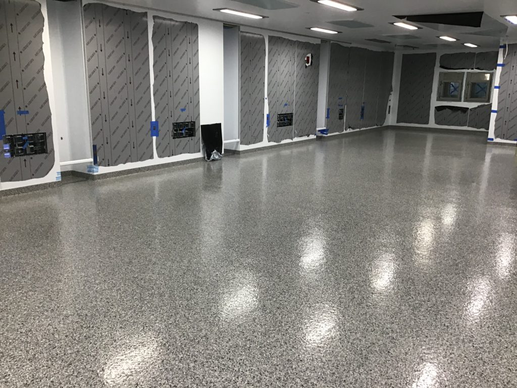 epoxy flooring - resin floor cost